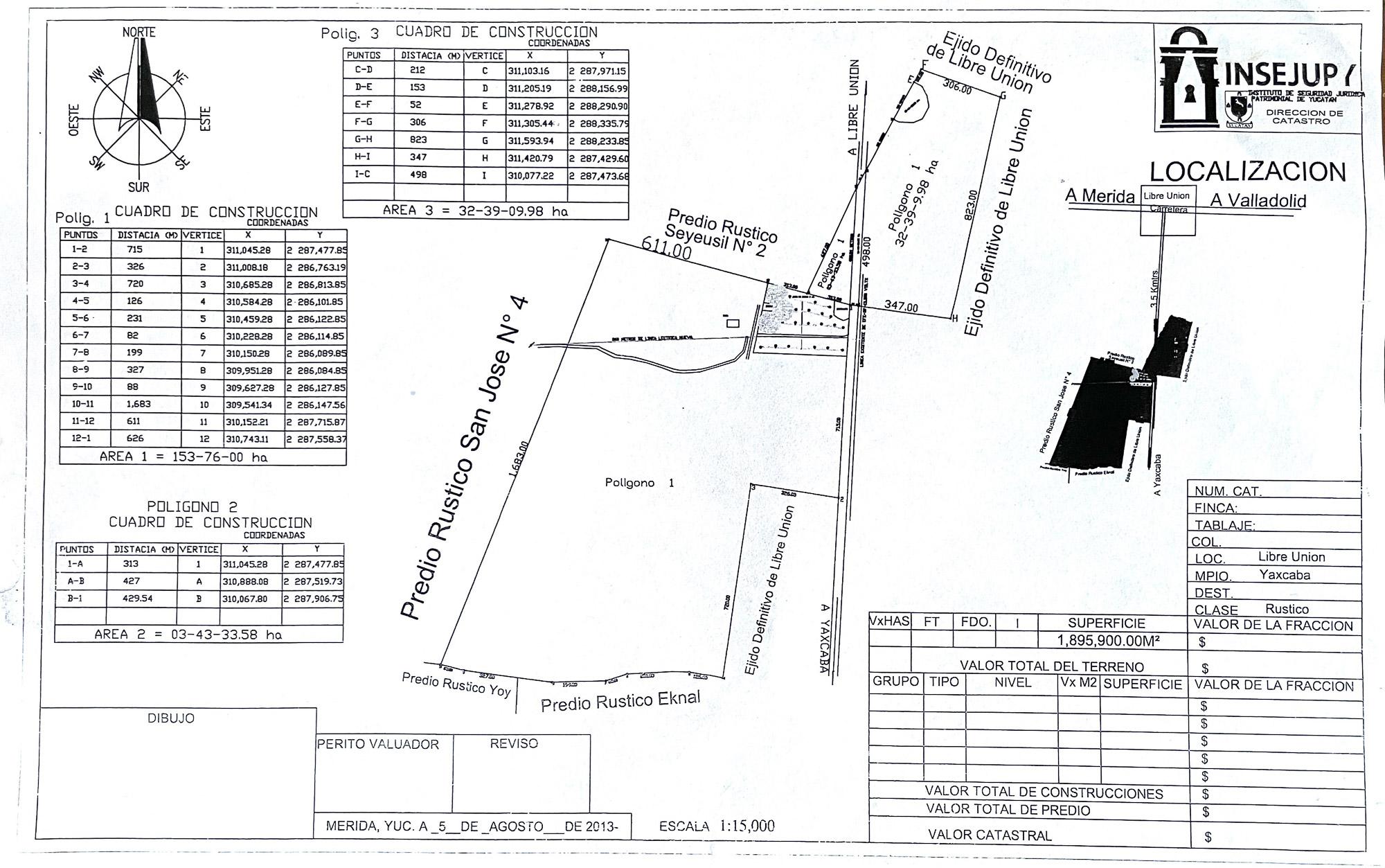 Land Registry Plan - Part I